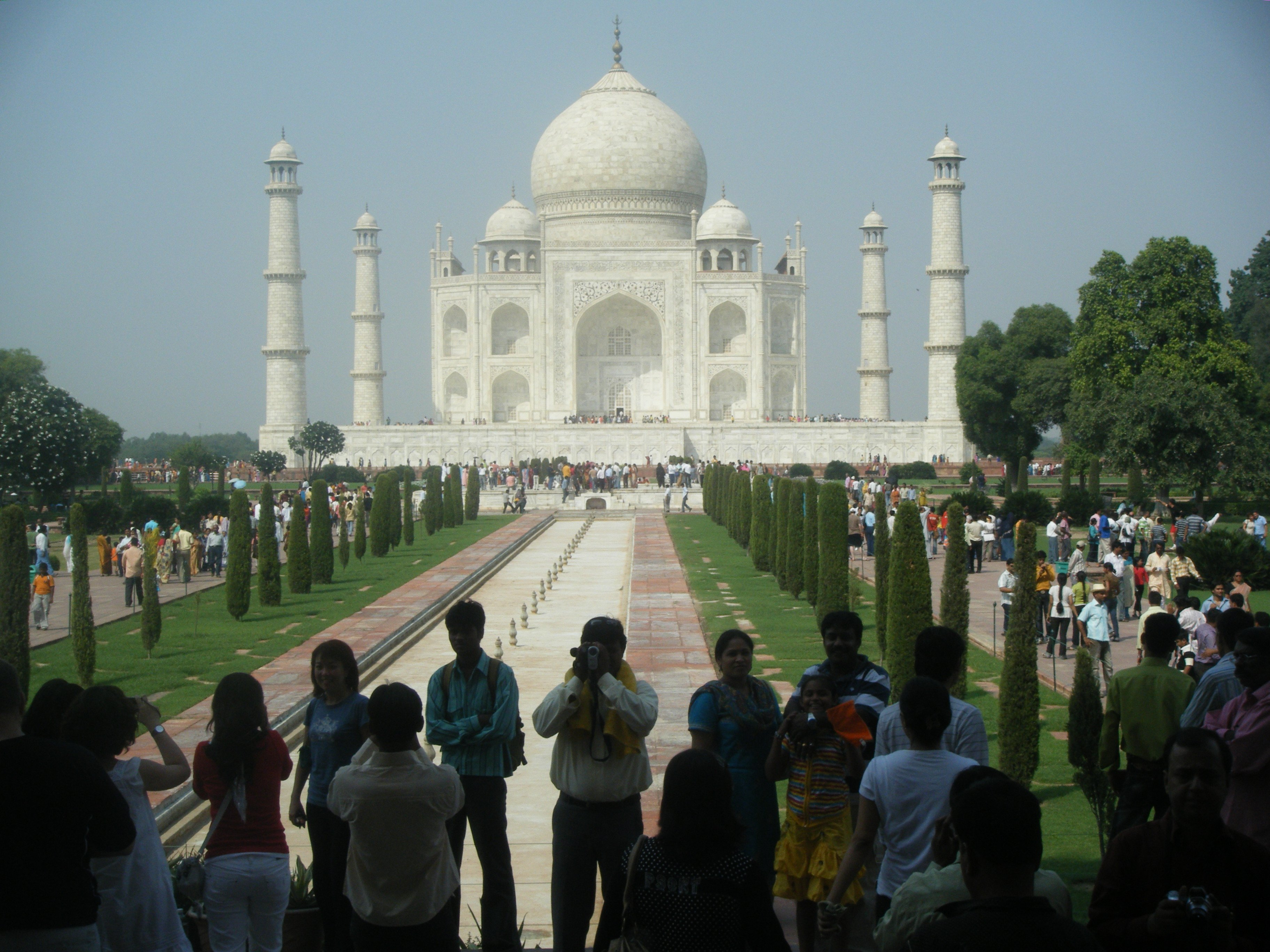 Agra, le célèbre TAJ MAHAL